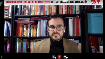 Garzón pide 'cuidar a la mayoría de la investidura' ante el 'asedio de la extrema derecha'
