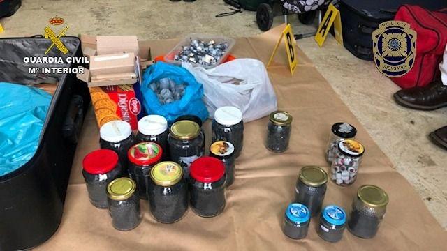 Las autoridades portuguesas entregan a España explosivos intervenidos a Resistencia Galega