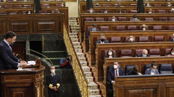 El Congreso de los Diputados dice 'no' a Vox