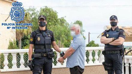Detenido un conocido criminal irlandés en Alicante