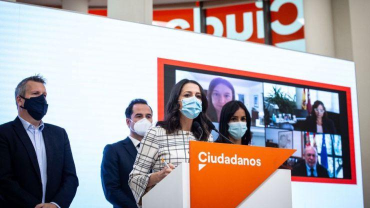 Arrimadas pide al Gobierno un Estado de Alarma