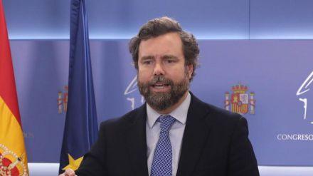 Espinosa de los Monteros sobre el Pacto de Toledo: 'Vox no será cómplice de este engaño a los españoles'