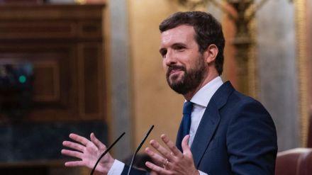 Casado a Sánchez: 'Menos aló presidente los fines de semana y más venir al Congreso'