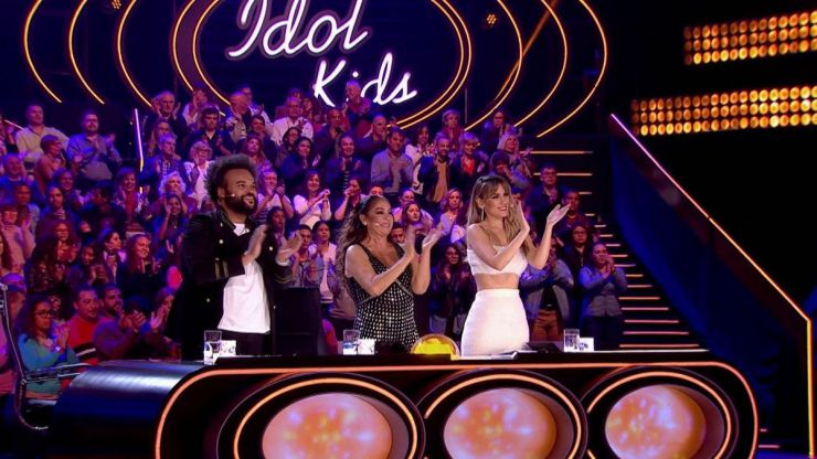 'Idol Kids' y 'Mujer' se reparten la noche