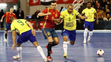 España-Brasil: El gran encuentro del fútbol sala mundial