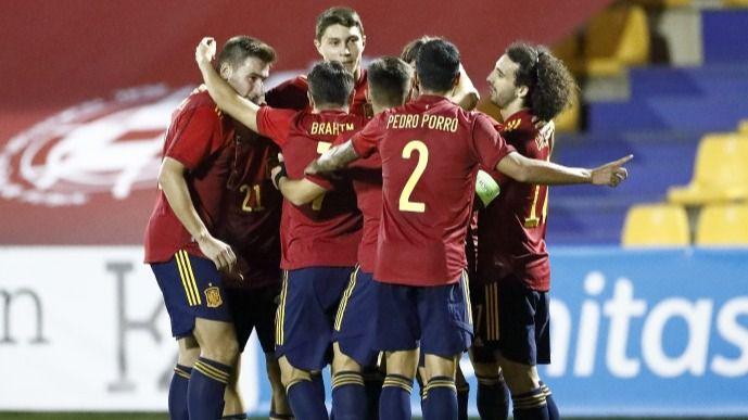 La sub-21 jugará sus dos últimos partidos oficiales de 2020 en Marbella