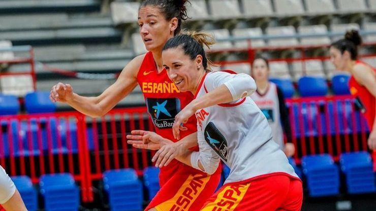 Baloncesto: La Selección Femenina regresa nueve meses después con la primera 'burbuja' de su historia
