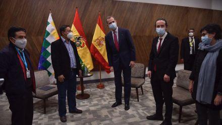 Iglesias y Zapatero impulsan la 'Declaración de La Paz' por la defensa de la democracia