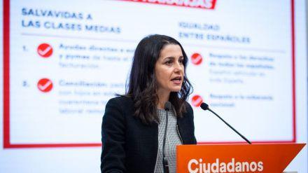 Arrimadas se planta y pone como 'líneas naranjas' la 'Ley Celáa' y un posible referéndum en Cataluña