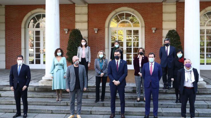 Gobierno y agentes sociales constituyen la Mesa del Diálogo Social