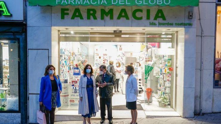 Ayuso eleva a Europa su petición de llevar los test COVID-19 a las farmacias