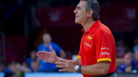 Sergio Scariolo valora la pre-lista de 16 jugadores para la Ventana de Valencia