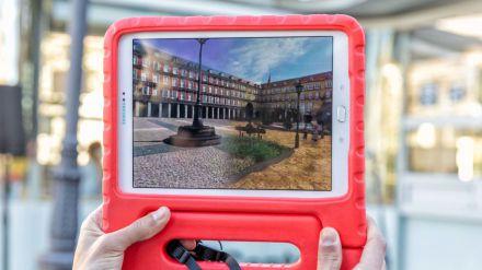 Una aplicación con rutas virtuales por cinco lugares de referencia de Madrid