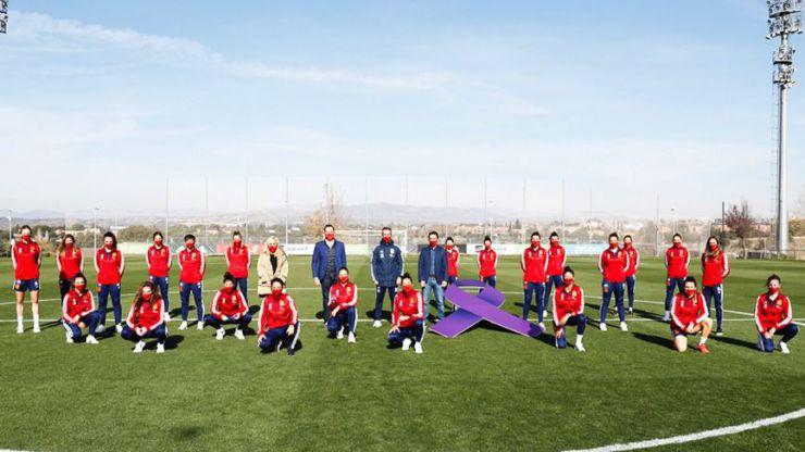 25-N: La Selección española muestra su compromiso para hacer frente a esta lacra social