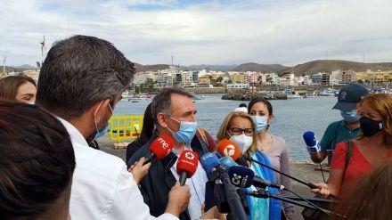 Unidas Podemos advierte que 'no vamos a tolerar que Canarias se convierta en un muro'