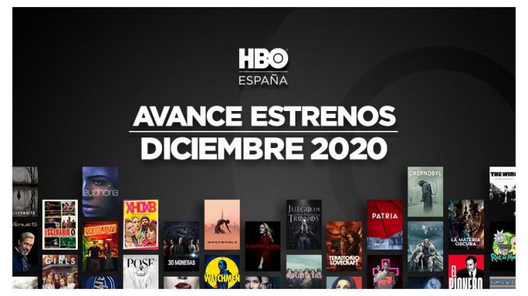 Un mes de diciembre cargado de estrenos en HBO