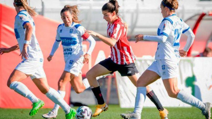 Fútbol femenino: Lucía García ha marcado la mitad de los goles del Athletic esta campaña