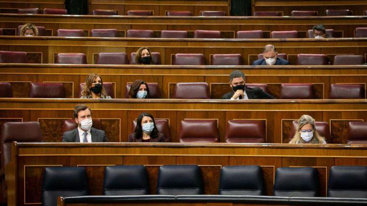 Sonado rifirrafe entre Odón Elorza y Macarena Olona en el Congreso