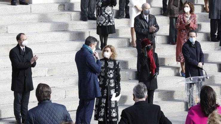 Día de la Constitución: De los elogios de Sánchez por su eficacia en la pandemia a los ataques de Unidas Podemos a la Monarquía
