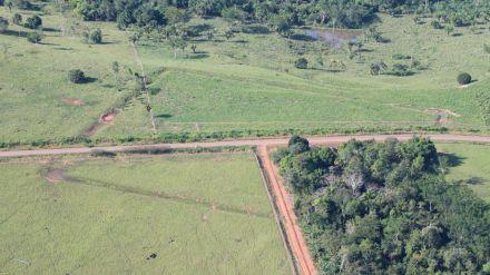 Vista aérea del área Severino Calazans, una de las zonas investigadas/Martti Pärssinen