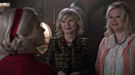 Las míticas Hilda y Zelda originales se cuelan en 'Las escalofriantes aventuras de Sabrina'