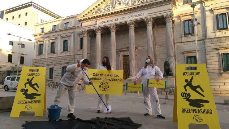 Un paso más ante el primer proceso judicial por el clima en España