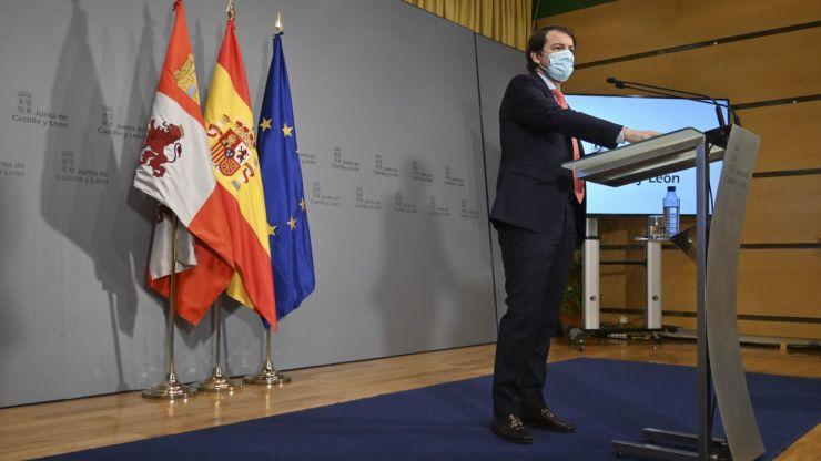 Castilla y León adopta medidas frente al Covid-19 en Navidad para frenar el impacto de la tercera ola