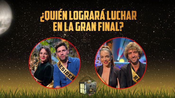 'La casa fuerte 2' celebra su gran final: Marta y Albert o Samira y Pavón se la juegan
