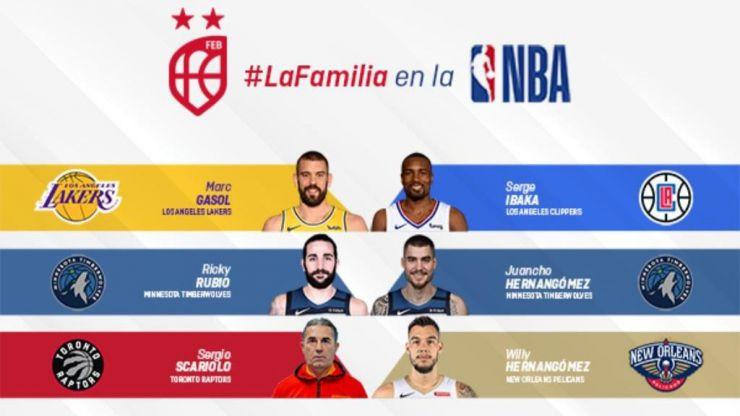 Retos para los españoles en la nueva temporada de la NBA