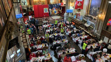 Vox no estará en la tradicional cena solidaria de Nochebuena del Congreso