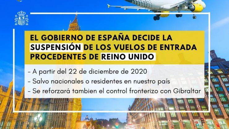 España se blinda ante la nueva cepa del Covid-19 registrada en Reino Unido
