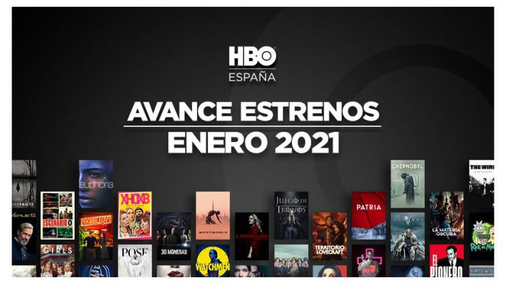 2021: Así arrancará HBO el nuevo año
