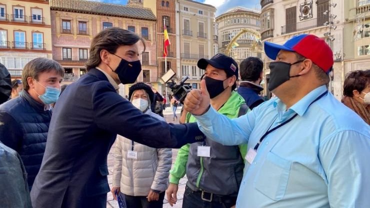 Montesinos reitera el respaldo del PP a la