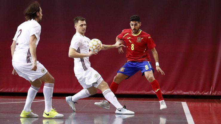 La Selección Española de Fútbol Sala despide 2020 liderando la clasificación mundial y las europeas