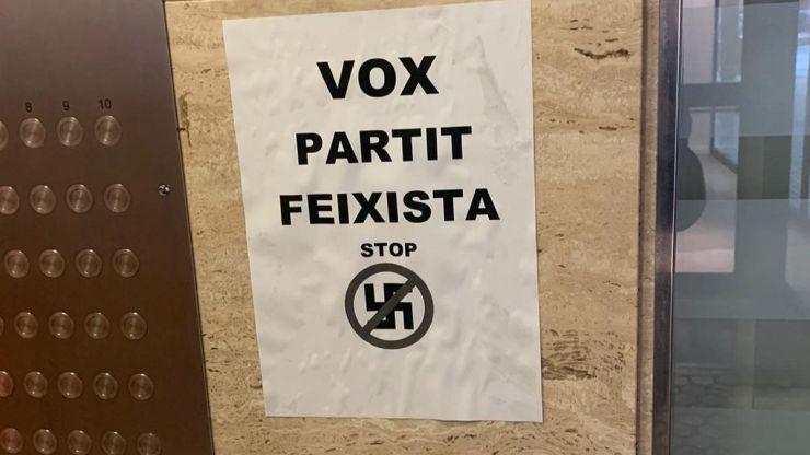 Vox tras los ataques a sus sedes: