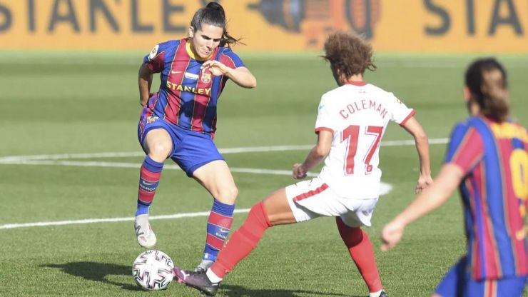 La Primera Iberdrola estrena 2021 con un líder en solitario: el FC Barcelona