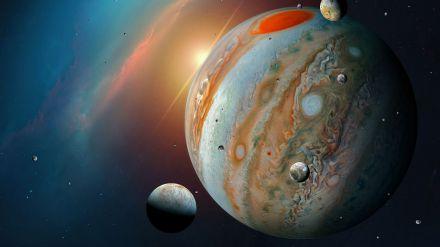 La NASA registra una señal de radio procedente de una luna de Júpiter