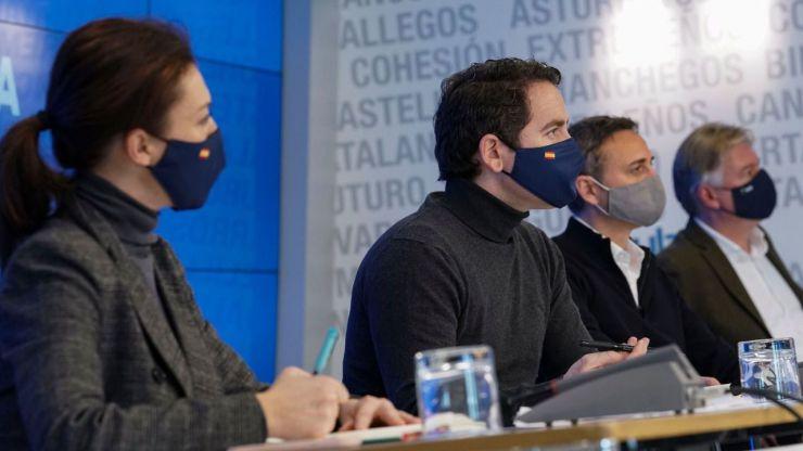 Egea critica que la 'pinza PSOE-Vox' quiera celebrar las elecciones en 'plena tercera ola'