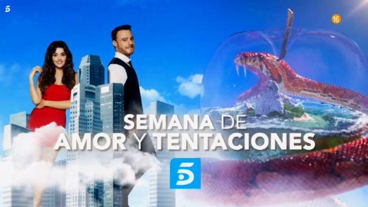 Telecinco lanza esta semana 'La isla de las tentaciones' y sigue apostando por 'Love is in the air'
