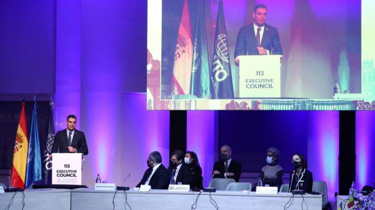 Sánchez sobre el turismo: 'No hay un problema de demanda, hay un problema de movilidad'