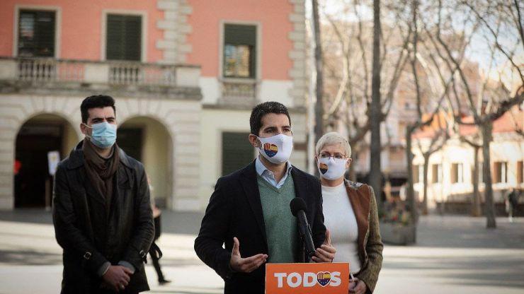 Martín Blanco: 'Lo mejor que le puede pasar a Cataluña es un gobierno liderado por Cs con el apoyo del PSC'