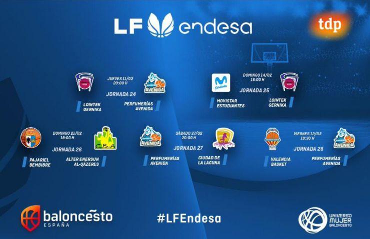 La #LFEndesa define su camino a los Playoffs en Twitter y Teledeporte