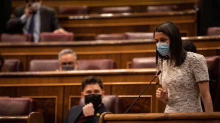 Arrimadas a Iceta: 'Su mesa del chantaje es escuchar solo a los que se saltan la ley'