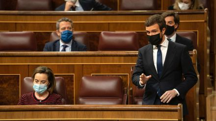 Casado: 'Señor Sánchez, por donde pasa no crece la hierba. Es usted un gafe'