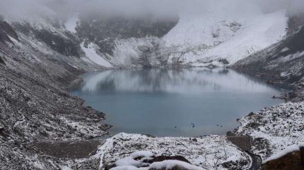 El cambio climático inducido por el hombre ha provocado el retroceso del glaciar Palcaraju