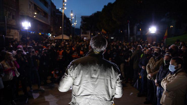 VOX exige que se condene la violencia en las elecciones catalanas