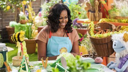 'Gofre + Mochi': Michelle Obama se estrena en Netflix con una serie familiar