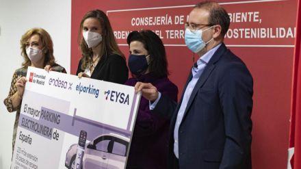 La Comunidad de Madrid pone en marcha la mayor electrolinera de España