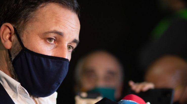 Abascal: 'El frente popular separatista no va a tener el apoyo de VOX'