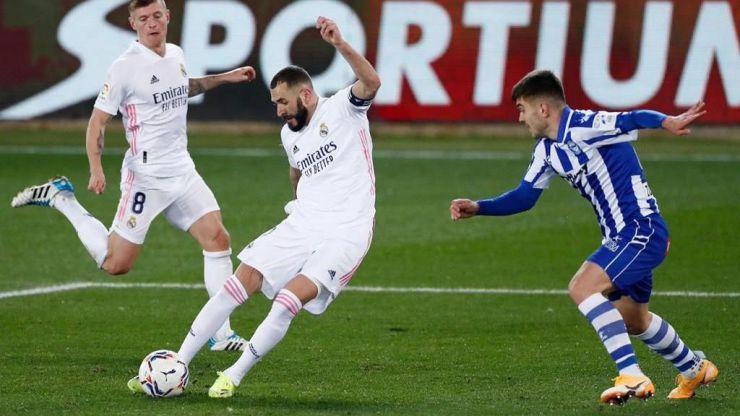 Benzema: primer gol madridista en ocho partidos